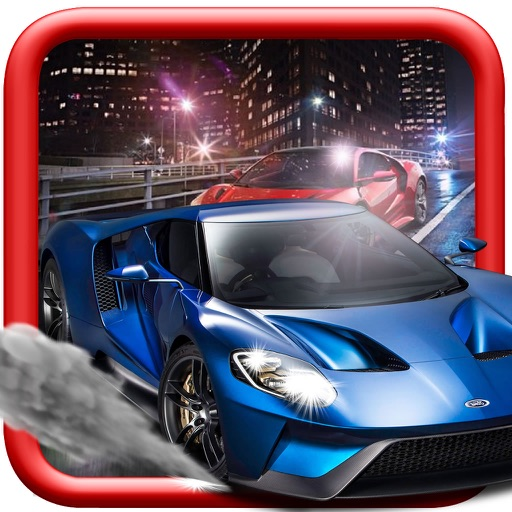 Clandestine Cars Race - A Hypnotic Game Of Driving icon