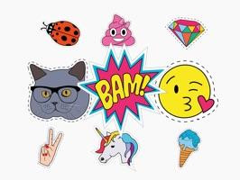 Megapack Pop Art Nostalgia - Stickers for iMessage