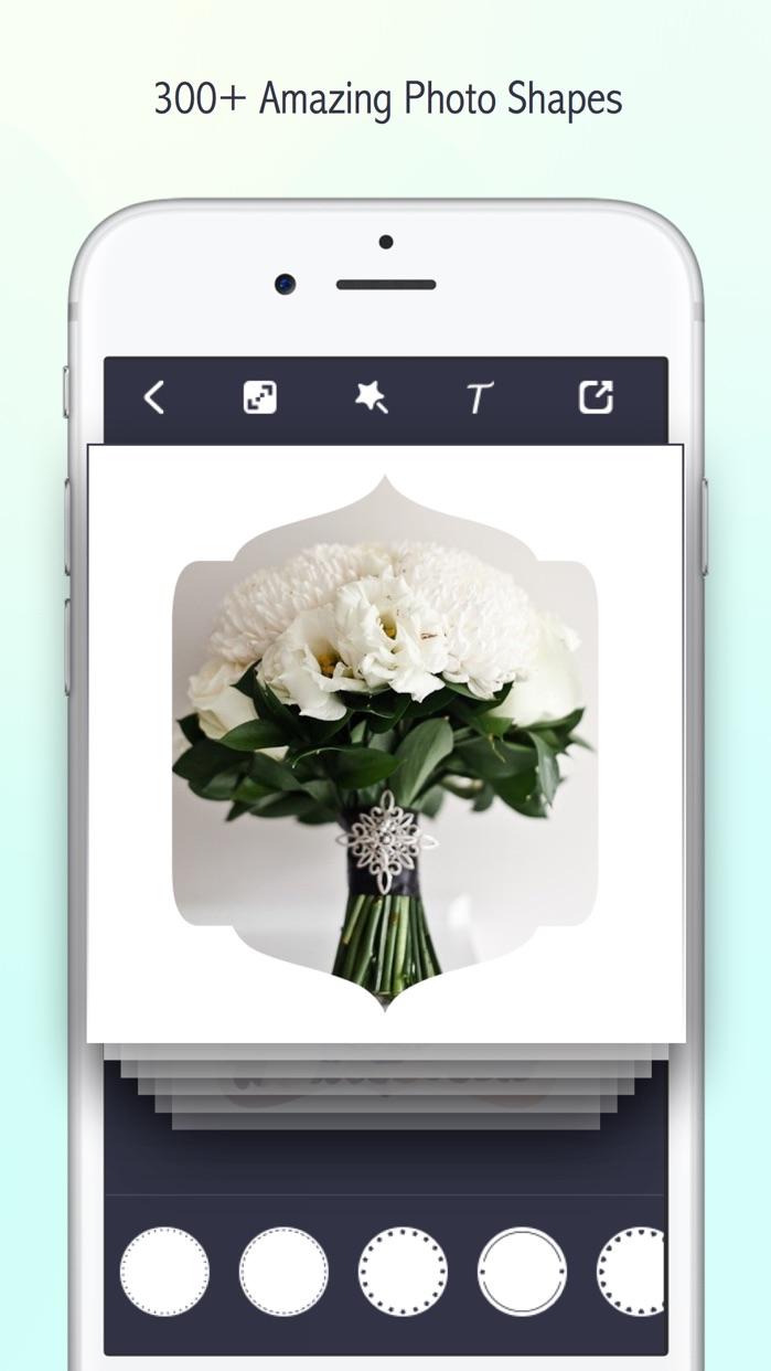 Lighto - Shape Border Editor & Overlay Frame Mask Screenshot