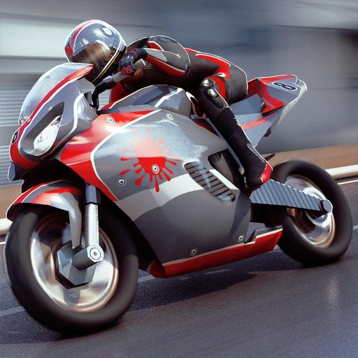 Мотоцикл привод . бесплатно мото гонки Траффик 3д
