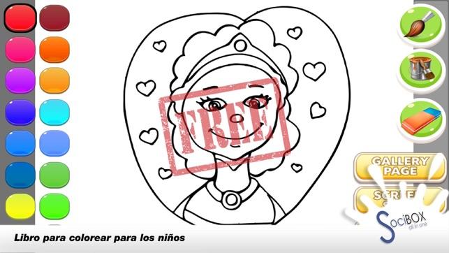 juego de colorear maquillaje para las niñas en App Store