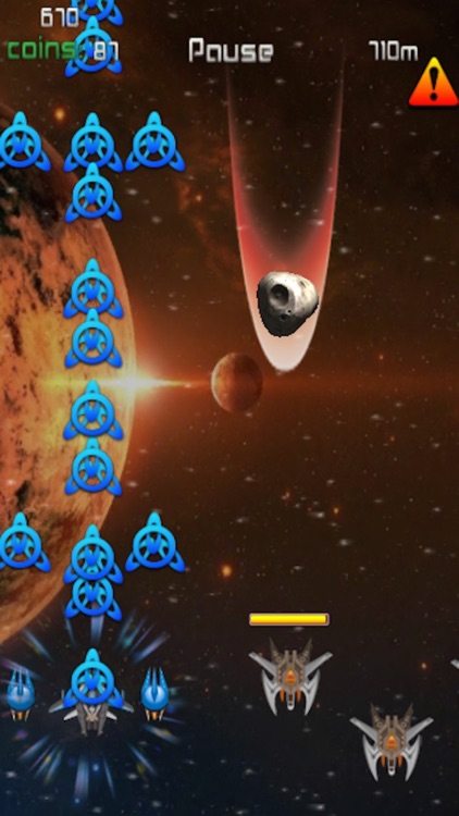 Infinite Space Shooting fighter game (free) - hafun screenshot-3