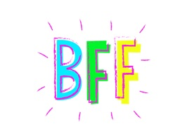 Have fun with your best friend in Messages with our BFF sticker pack