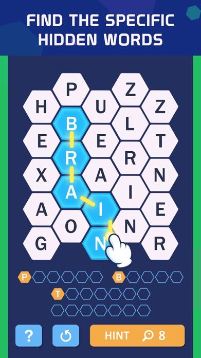 Word Spark Hexa - Block Puzzle Screenshot
