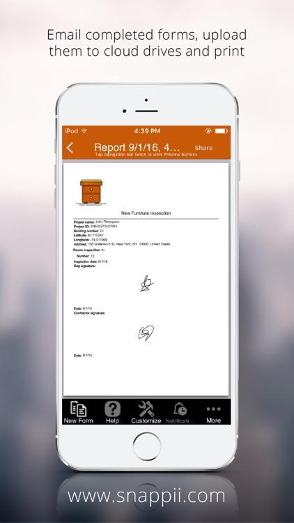 Furniture inspection screenshot-4