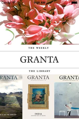 Granta - náhled