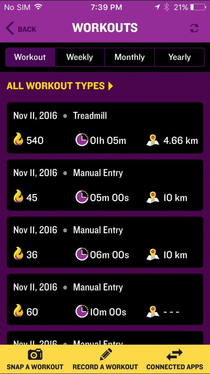 Planet Fitness Screenshot