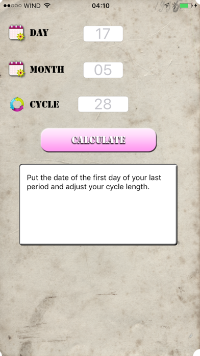Ovulation Calc screenshot two
