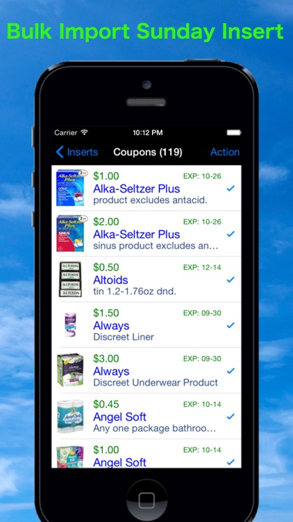 Coupon Binder app image