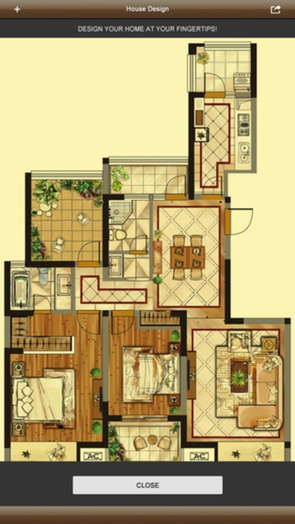 3D Interior Plan - Home Floor Design & Auto CAD