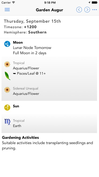 Garden Augur - Moon Calendar screenshot-0