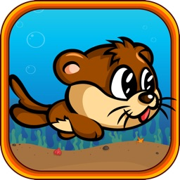 Otter Dive – Help the Cutesy Aquatic Otter Pup Swim through Obstacles to Retrieve his Lost Goodies!