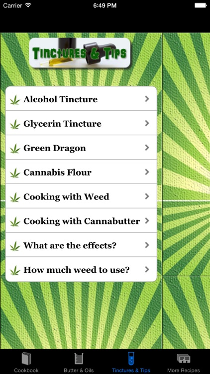 Weed Cookbook - Medical Marijuana Recipes & Cookin screenshot-4