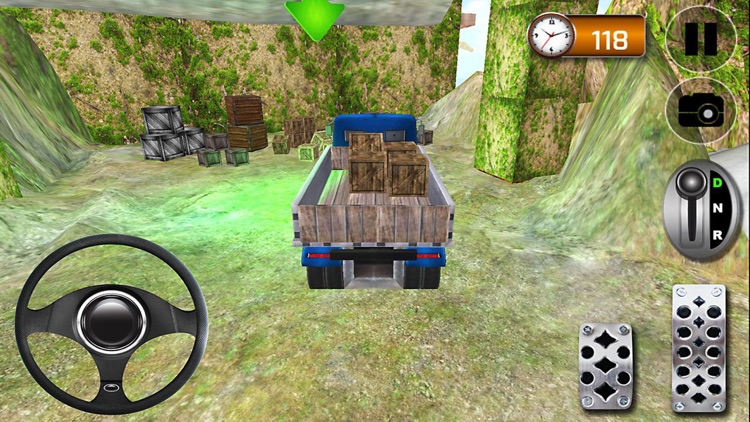 Hill Climb Truck Driving Simulator 3D screenshot-2