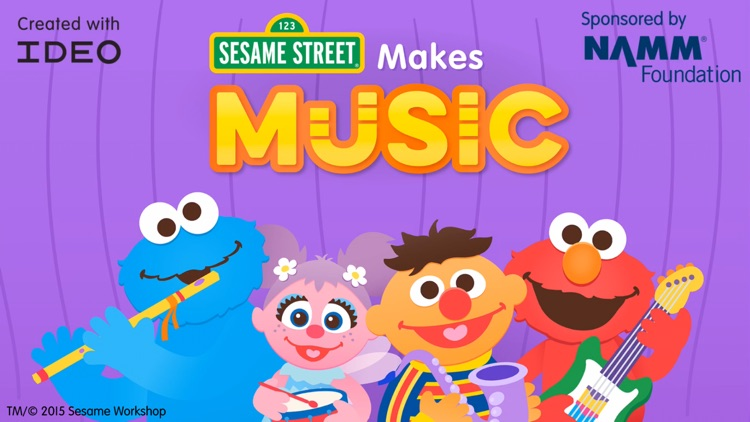 Sesame Street Makes Music screenshot-0