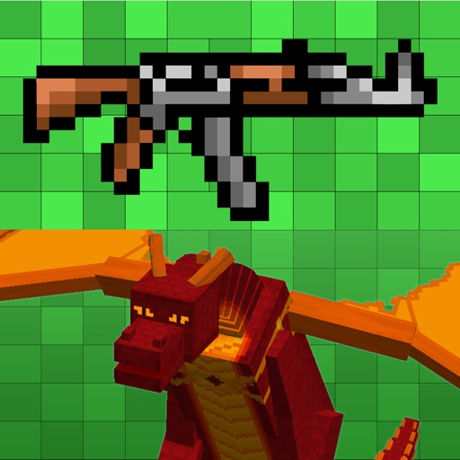 GUNS & DRAGONS MOD for Minecraft Game PC Edition