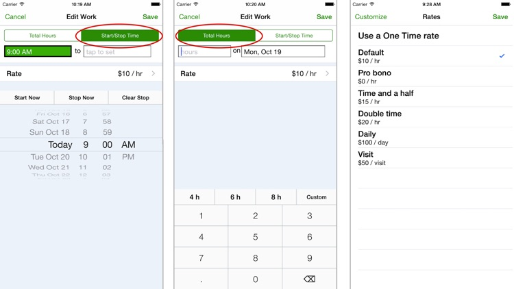 TimeTracker - Time Sheet, Reporting & Invoicing screenshot-3