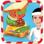 Sandwich Maker - Crazy restauration rapide cuisson fièvre et jeu de cuisine