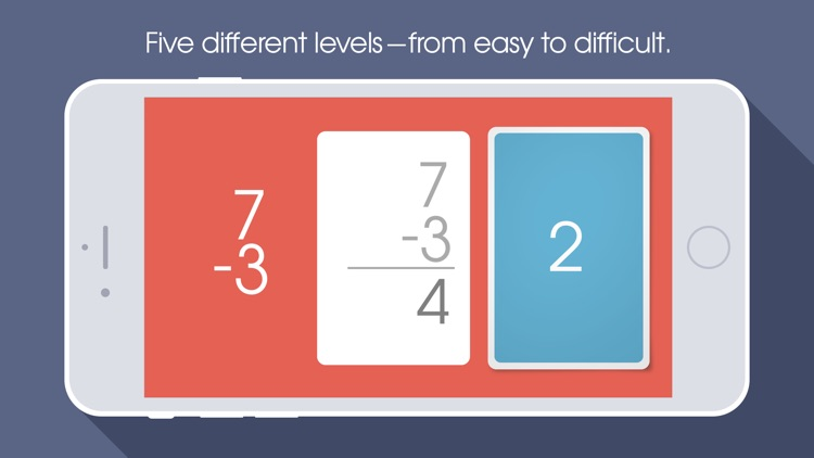 NomoCards Addition & Subtraction Flash Cards screenshot-3