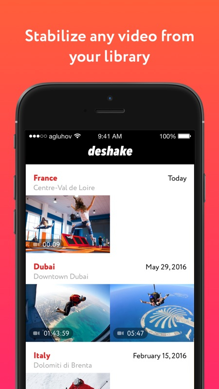 Deshake - Video stabilization - Online Game Hack and Cheat