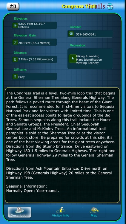 Sequoia National Park Guide screenshot-3