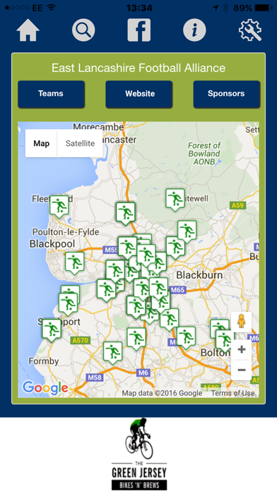 CSP UK Pitch Finder screenshot one