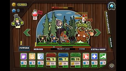 Tap Heroes - Adventure Battle QuestCaptura de pantalla de1