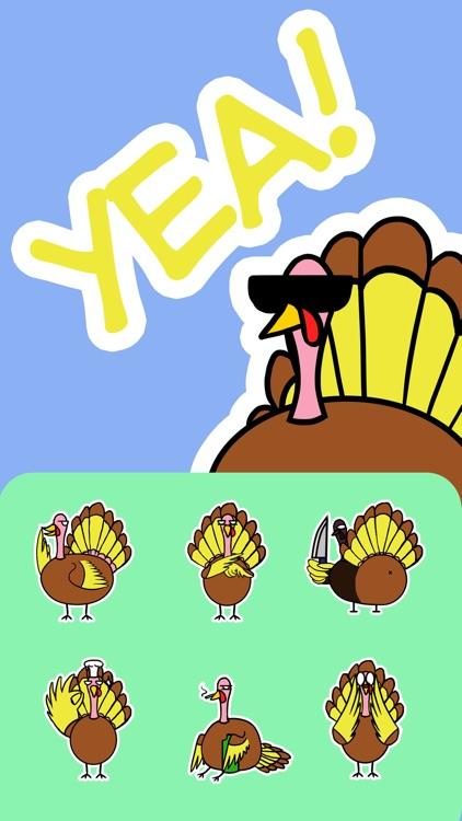 Turkey Sticker Pack