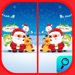 Spot the Difference Merry Christmas Find it Game.s