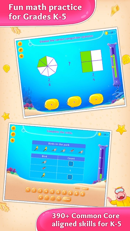 Third Grade Splash Math Games