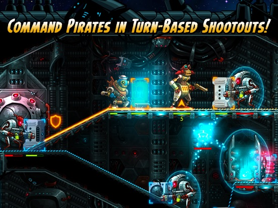 Screenshot #2 for SteamWorld Heist