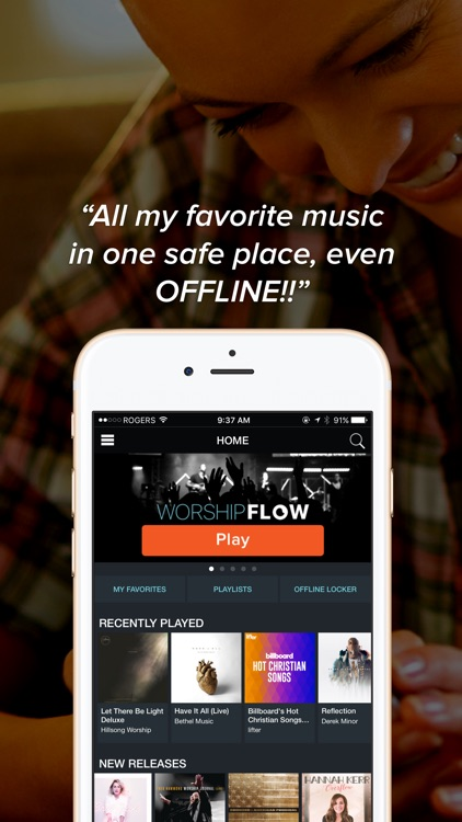 The Overflow - Streaming Christian Music app image