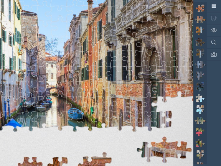 Jigsaw Puzzles Cities