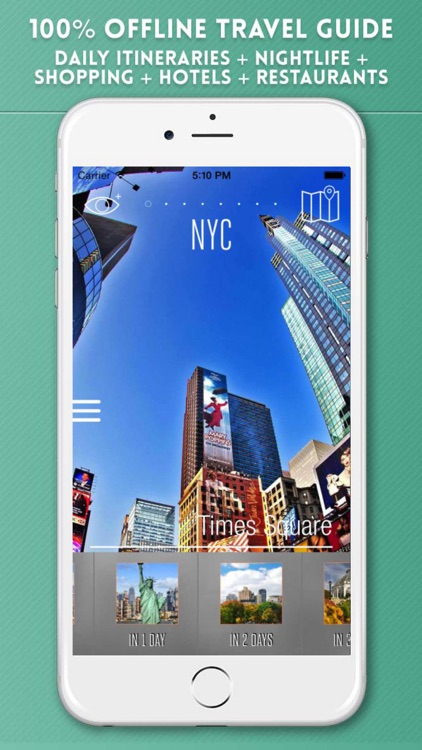 New York Travel Guide and Offline City Map screenshot-0