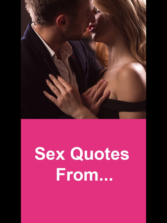 Quotes About Sex By Famous People
