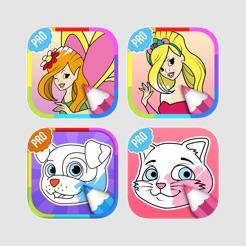 Kızlar Için Boyama Oyunları App Storeda