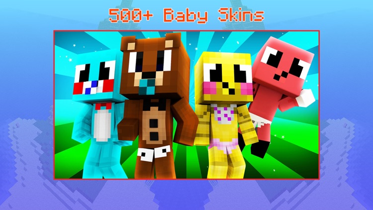 Baby Skins for Minecraft PE - Boy & Girl Skinseed