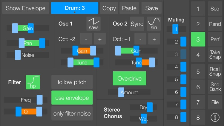SeekBeats Drum Machine Synth