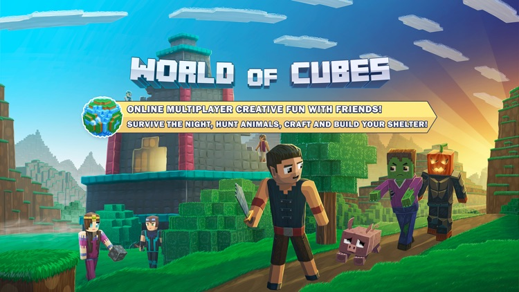 World of Cubes Survival Craft screenshot-0