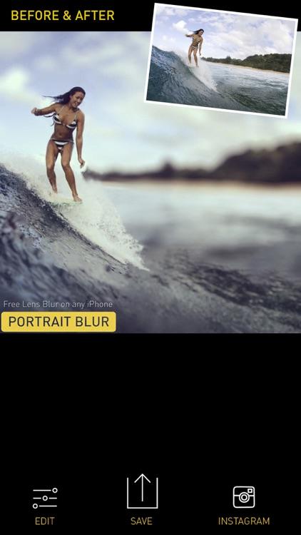 Portrait Mode Pro — Lens Blur and Bokeh editor screenshot-4