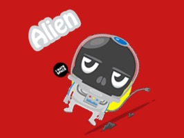 ~~ To celebrate our launch we are making our Alien sticker pack FREE for a limited time only