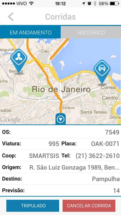 Recreio Taxi screenshot-2