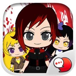 Ruby Cartoon Stickers Keyboard Themes ChatStick