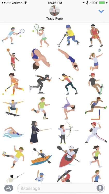 All Sport - Sticker Pack screenshot-1
