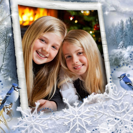 Christmas Picture Frame - Free iOS App