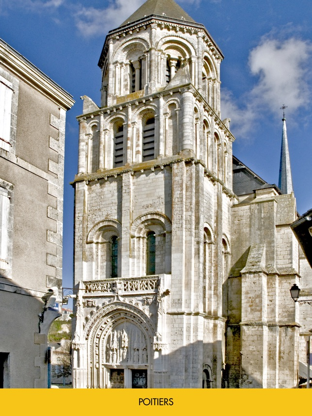 Audio guide of Poitiers on the