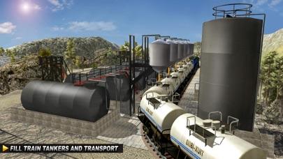 Oil Tanker TRAIN Transporter - Supply Oil to Hillのおすすめ画像2