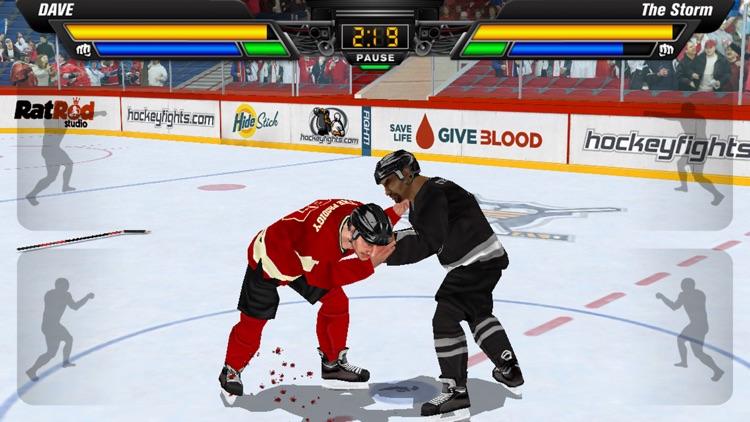 Hockey Fight Lite screenshot-0