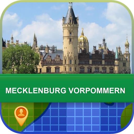 Mecklenburg Vorpommern Map - World Offline Maps