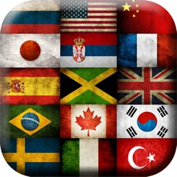 Flags of the World Picture Frame.s - Photo Montage